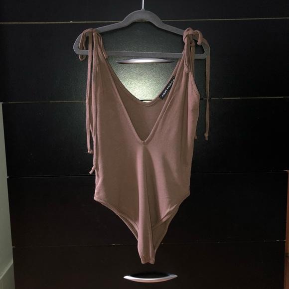 8050064cdd naked wardrobe Tops - Naked Wardrobe Low Cut Bodysuit
